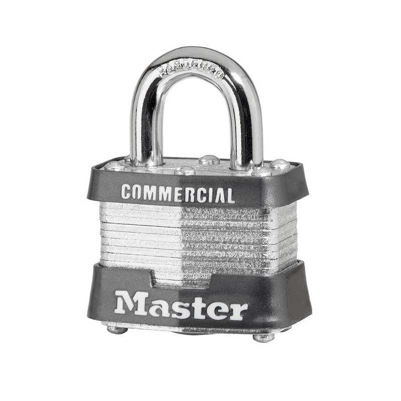 3 Padlock Laminated Keyed To Differ