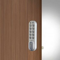 Silver Grey Kitlock Electronic Cabinet Lock