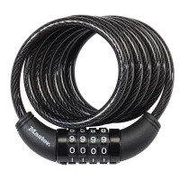 Master 8114DSG Combination Cable Lock 5/16in x 6ft