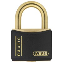 Black Rustproof Abus Padlock Keyed Alike