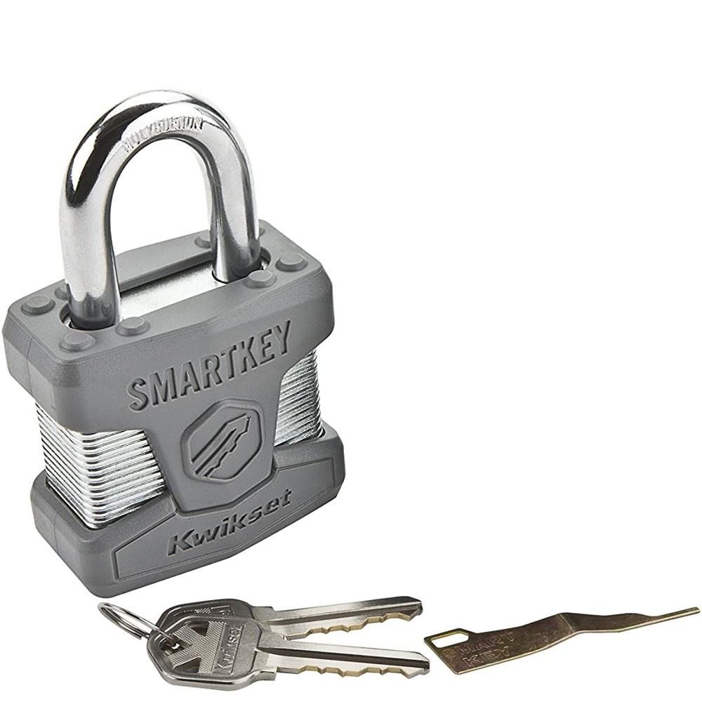 Kwikset 026 SmartKey Padlock STD