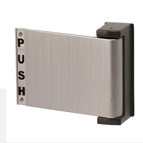 Push Paddle - Anodised Silver