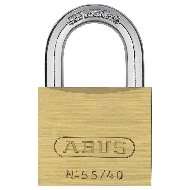 Abus 55/40mm Brass Padlock