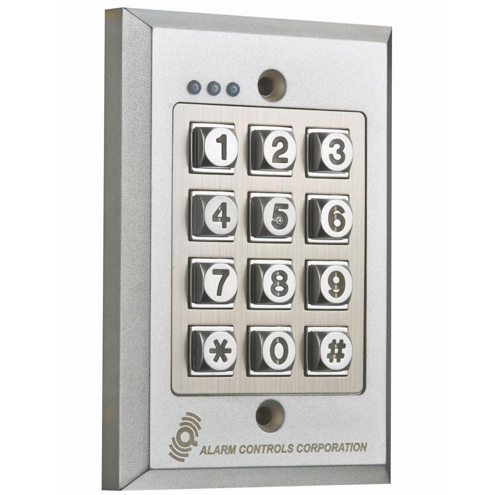 Alarm Controls Vandal-Resistant Digital Keypad