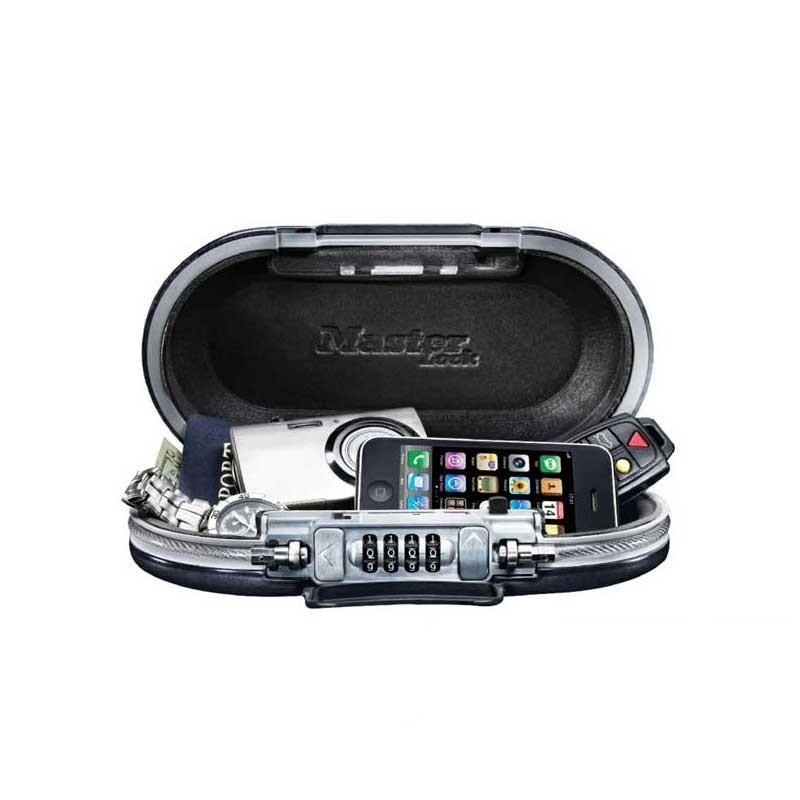 Master Portable Safe Gray