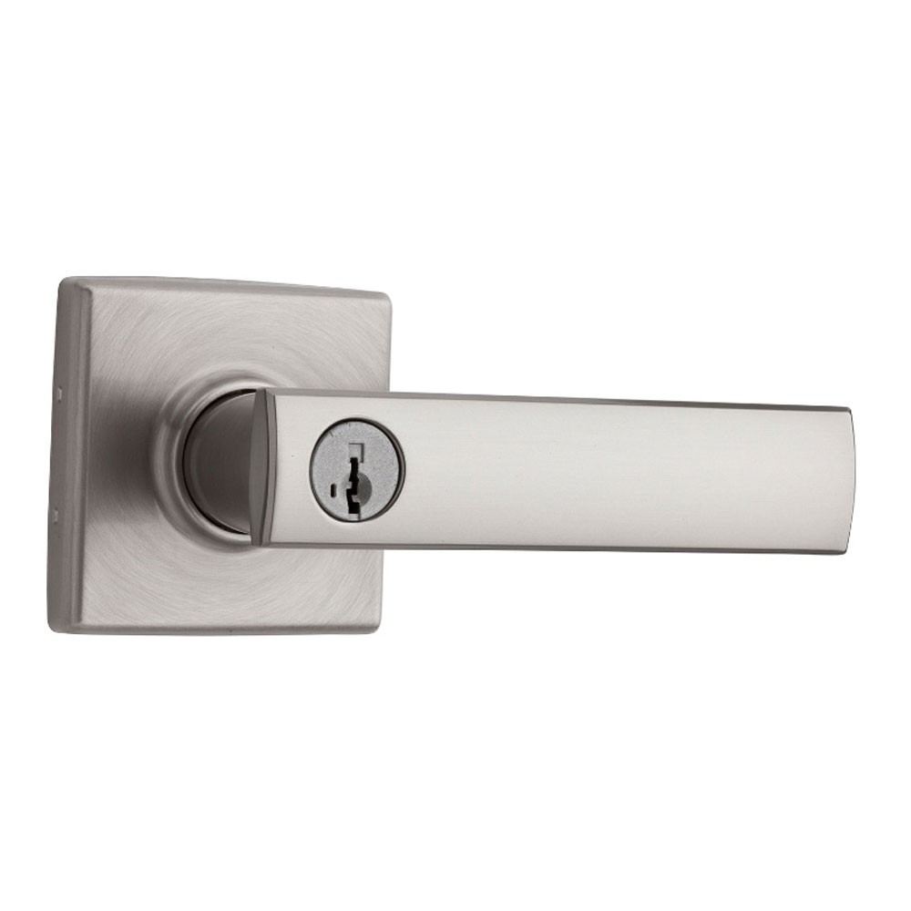 Satin Nickel Exterior Lever