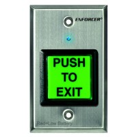 Seco-Larm RF Wireless Request-to-Exit Plate