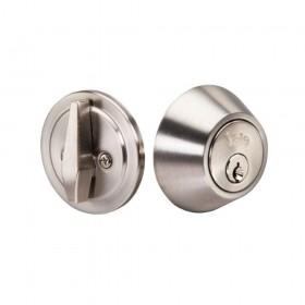Yale Edge Round Single Cyl Deadbolt